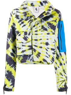 Nike X Off-White куртка NRG с принтом тай-дай из коллаборации с Nike