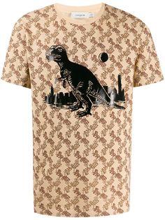 Coach футболка с принтом