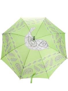 Natasha Zinko зонт с принтом и логотипом