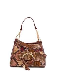 See By Chloé Joan snakeskin-effect tote bag