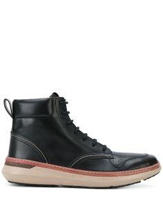 Armani Jeans ботинки на шнуровке