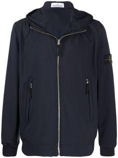 Stone Island куртка Soft Shell-R с капюшоном