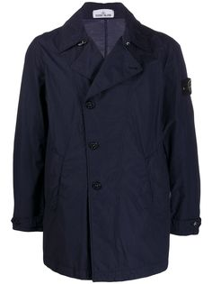 Stone Island однобортная куртка