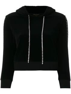 Juicy Couture велюровая толстовка с капюшоном и отделкой Swarovski