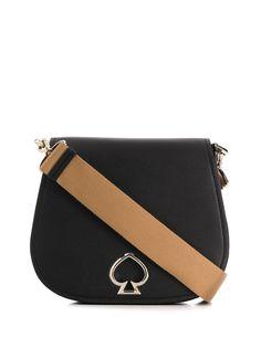 Kate Spade сумка на плечо с металлическим логотипом