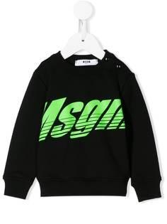 Msgm Kids свитер с логотипом