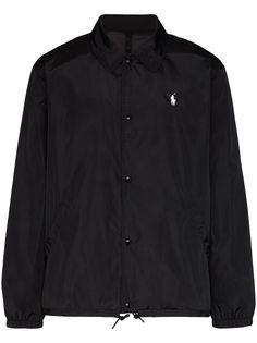 Polo Ralph Lauren куртка-рубашка с вышитым логотипом
