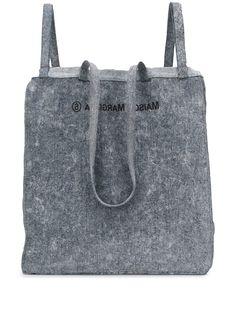 MM6 Maison Margiela джинсовая объемная сумка