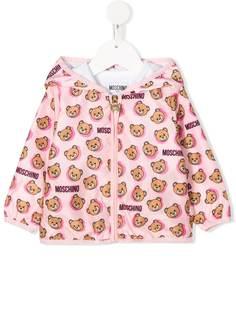 Moschino Kids куртка с принтом Teddy Bear