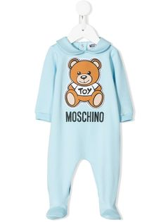 Moschino Kids пижама с принтом Teddy Bear