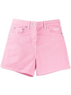 MSGM джинсовые шорты