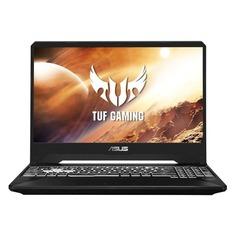 "Ноутбук ASUS TUF Gaming FX505DV-BQ016T, 15.6"", IPS, AMD Ryzen 7 3750H 2.3ГГц, 16Гб, 512Гб SSD, nVidia GeForce RTX 2060 - 6144 Мб, Windows 10, 90NR02N2-M01140, черный"