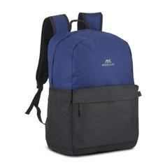 """Рюкзак 15.6"""" RIVA Mestalla 5560, синий/черный [5560 cobalt blue/black]"""