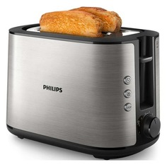 Тостер PHILIPS HD2650, серебристый [hd2650/90]