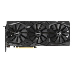 Видеокарта ASUS nVidia GeForce RTX 2070 , ROG-STRIX-RTX2070-O8G-GAMING, 8ГБ, GDDR6, OC, Ret
