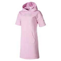 Детское платье Alpha Hooded Sweat Dress Puma