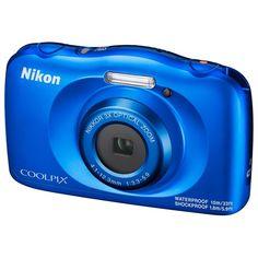 Фотоаппарат компактный Nikon COOLPIX W150 BLUE BACKPACK KIT
