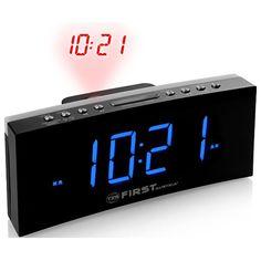 Радио-часы FIRST FA-2420-4 Black