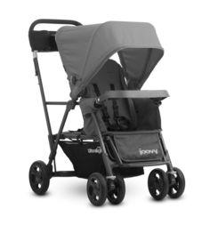 Прогулочная коляска Joovy Caboose Ultralight Graphite, цвет: серый