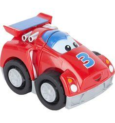 Конструктор Mega Bloks Машинки маленькие гоночный автомобиль красный, 3 дет.