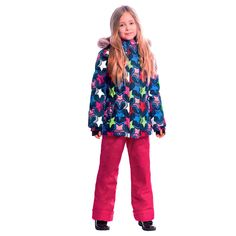 Комплект куртка/брюки Premont Звезды Ориона, цвет: синий