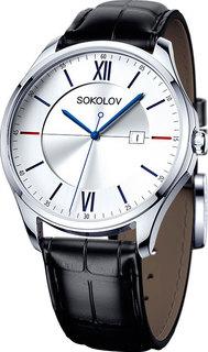 Мужские часы в коллекции Freedom Мужские часы SOKOLOV 154.30.00.000.01.01.3