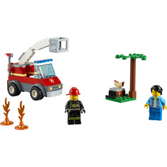 Конструктор Lego City Пожарные: Пожар на пикнике 60212