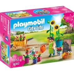 Игровой набор Playmobil Шопинг: Флористический магазин
