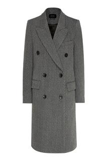 Шерстяное двубортное пальто Isabel Marant
