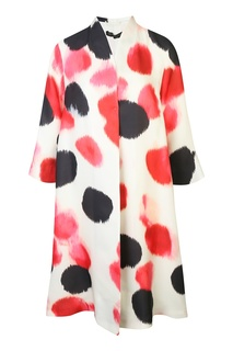 Легкое пальто из смешанного шелка Marina Rinaldi