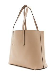 Кожаная сумка-шоппер Fendi