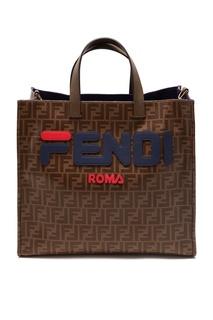 Сумка-шоппер Tess с монограммами Fendi x Fila
