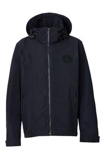 Синяя куртка с капюшоном Burberry