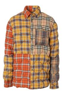Разноцветная куртка в клетку Burberry