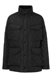 Стеганая куртка с накладными карманами Burberry