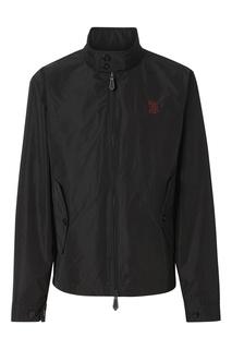 Черная нейлоновая куртка Burberry