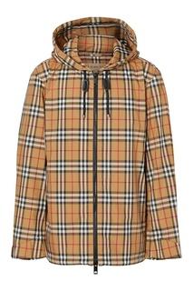 Легкая куртка в клетку Burberry
