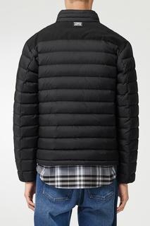 Черная куртка с кокеткой Burberry