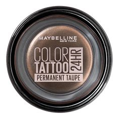 Тени для век MAYBELLINE COLOR TATTOO 24 HR тон коричневый