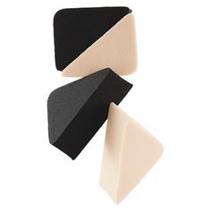 Спонжи для макияжа DE.CO. BASE клиновидные латекс 4 шт Deco
