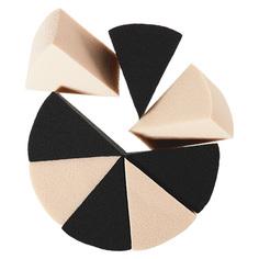 Спонжи для макияжа DE.CO. BASE клиновидные латекс 8 шт Deco