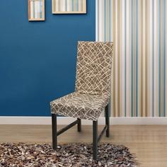 Набор из 2 чехлов для стула Греция Марон Belmarti