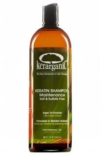 Kerarganic, Кератиновый шампунь безсульфатный для домашнего ухода, 10 мл (саше)