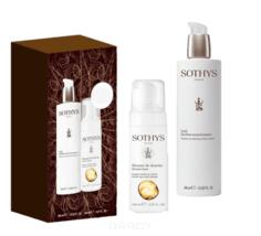 "Sothys, Набор для тела 2018: Пена для ванн Shower Foam 150 мл + Hydra-Nourishing Body Lotion Крем-эмульсия для тела ""Увлажнение и питание"" 400 мл"