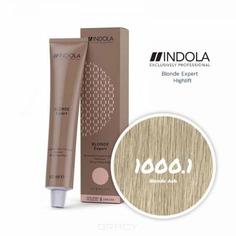 Indola, Индола краска для волос профессиональная Profession, 60 мл (палитра 141 цвет) Блонд Эксперт 1000.1 блонд пепельный
