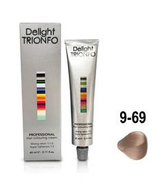 Constant Delight, Краска для волос Констант Делайт Trionfo, 60 мл (74 оттенка) 9-69 Блондин шоколадно-фиолетовый