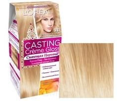 LOreal, Краска для волос Casting Creme Gloss (37 оттенков), 254 мл 931 Очень светло-русый золотистый пепельнвй LOreal