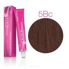 Matrix, Крем краска для волос SoColor.Beauty профессиональная, 90 мл (палитра 133 цветов) SOCOLOR.beauty 5BC светлый шатен коричнево-медный