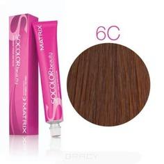 Matrix, Крем краска для волос SoColor.Beauty профессиональная, 90 мл (палитра 133 цветов) SOCOLOR.beauty 6C Темный Блондин медный