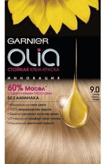 Garnier, Краска для волос Olia, 160 мл (24 оттенка) 9.0 Очень светло-русый